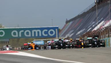 Salida GP España F1