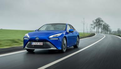 Prueba Toyota Mirai 2021