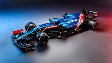 Alpine A521 Fernando Alonso
