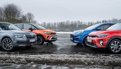 Comparativa: Opel Crossland vs Ford Puma, Kia Stonic y Skoda Kamiq