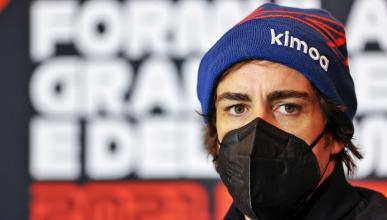 Fernando Alonso en Imola