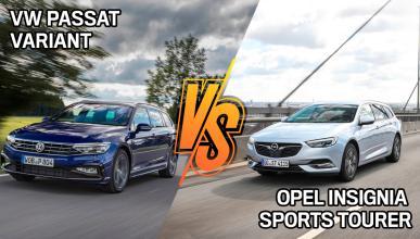 Opel Insignia Sports Tourer o VW Passat Variant 2021, ¿cuál es mejor?