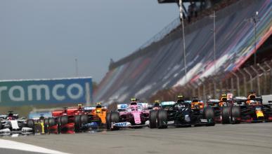 Salida GP Espana de F1