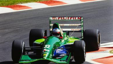 Michael Schumacher con el Jordan 191