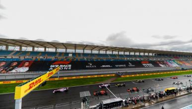 Salida GP Turquía F1 2020