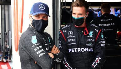 Valtteri Bottas en el GP de Francia de F1 2021