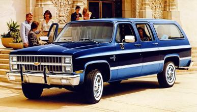 historia Chevrolet Suburban
