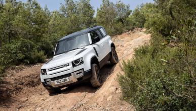 Prueba Land Rover Defender PHEV 2022