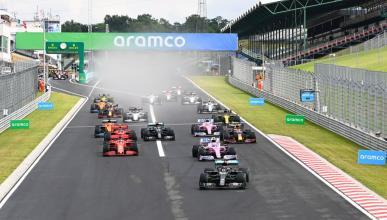 Salida GP Hungria 2020