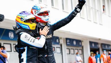 Alonso y Ocon GP Hungria