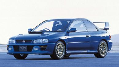 Historia Subaru Impreza WRX
