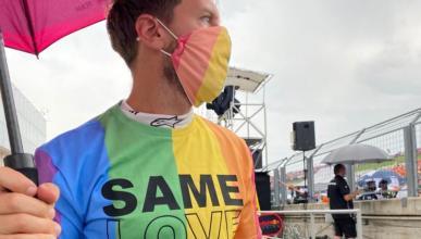 Vettel camiseta LGTBI