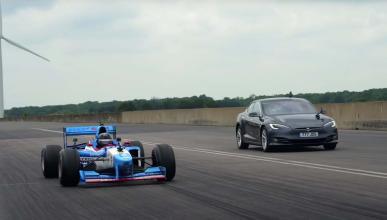 Vídeo: ¿puede un Tesla ganar a un fórmula 1 en aceleración?