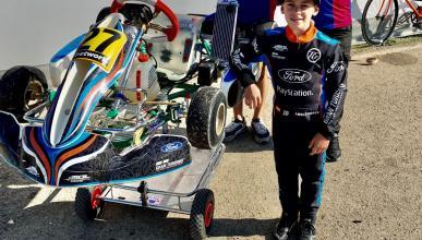 Abel Torres, piloto karting Ford