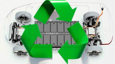Reciclar baterías VW