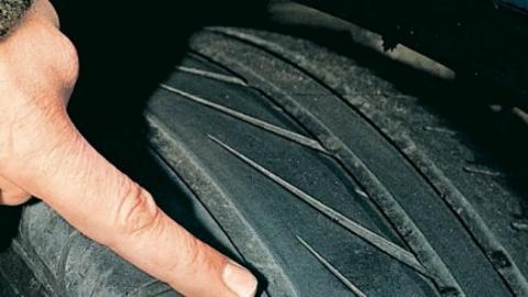 Neumáticos gastados: imprudencia con peligro de muerte