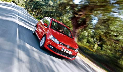 VW Polo GTI frontal