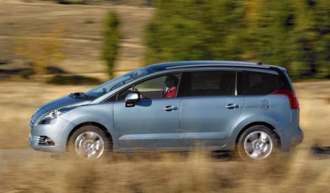 Peugeot 5008 lateral