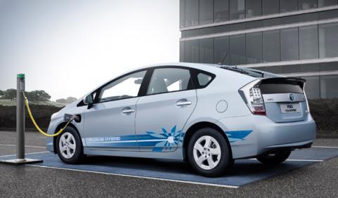 Toyota  híbrido 'enchufable'