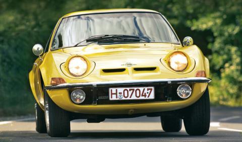 Opel GT frontal