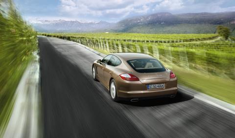 Fotos: Nuevo motor V6 de 300 CV para el Porsche Panamera