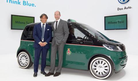 Fotos: Milano Taxi: transporte urbano con cero emisiones