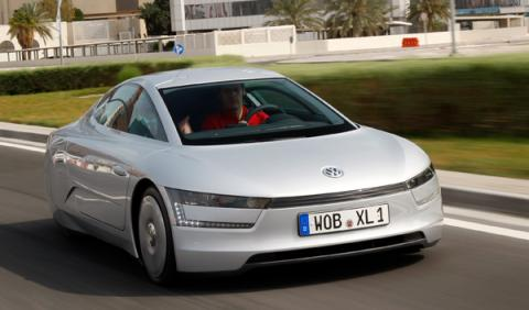 Volkswagen XL1 híbrido TDI bicilíndrico prototipo 0,9 litros
