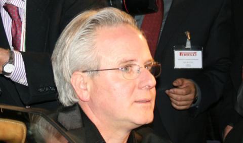 Horacio Pagani, en la presentación del Huayra