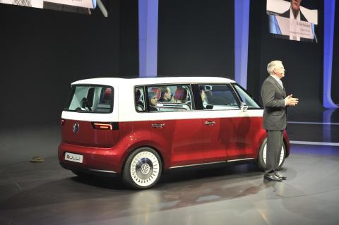 Volkswagen Bulli Salón Ginebra