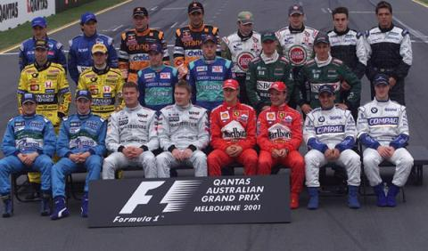 Fernando Alonso en su debut