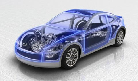 Subaru Boxer Sports Car delantera