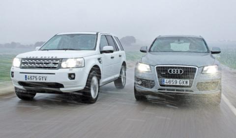 Audi Q5 vs Land Rover Freelander