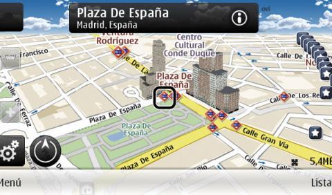 Nokia Ovi Maps 3.04 GPS para el coche