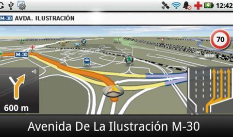 Navigon Mobile Navigator gps para el coche