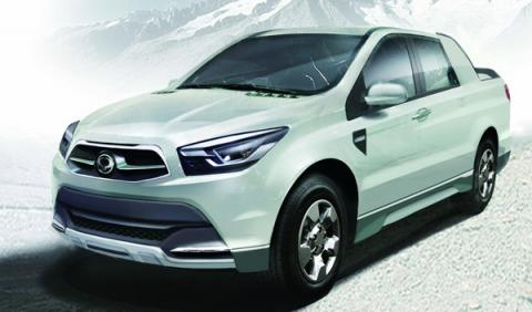 ssangyong, sut1, actyon sports, pick up, todoterreno, SUV, concept, sustituto