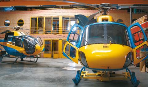 helicópteros DGT radares