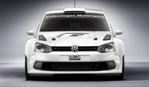 Volskwagen polo r wrc delantera