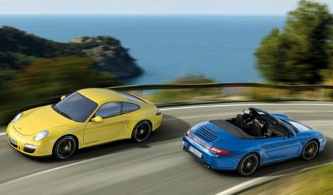 El Porsche 911 Carrera 4 GTS está disponible como coupé y cabrio