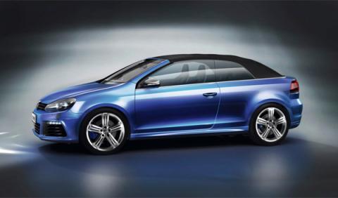 Volkswagen Golf R Cabriolet perfil