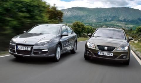 Renault Laguna contra Seat Exeo