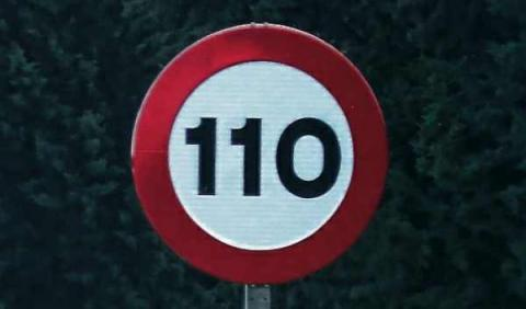 Límite, 110 km/h