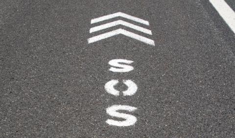 Nuevas señales para marcar la distancia de seguridad