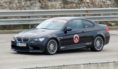 Record velocidad nardo BMW M3 G-Power SK II