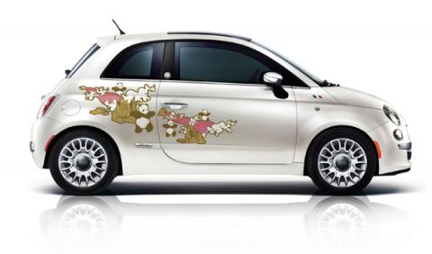 Fiat 500 First Edition China