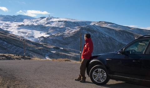 Sierra Nevada Granada offroad vistas