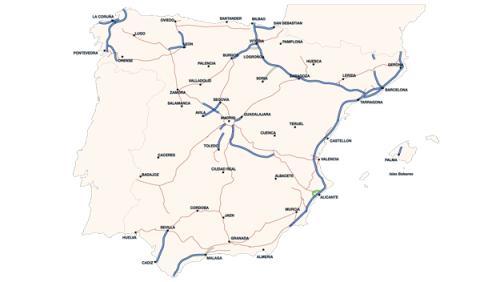 Autopistas de peaje en España