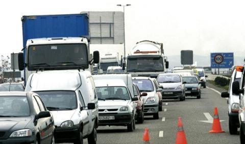 Tráfico en la autovía