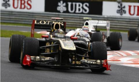 Lotus Renault de Nick Heidfeld