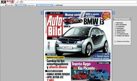 Version digital auto bild en kiosko y mas