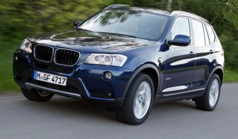 BMW X3 color azul